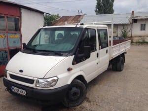 Inchiriere autobasculanta Ford Transit 3,5 tone