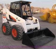 Inchiriere Bobcat 863 de 3,2 tone