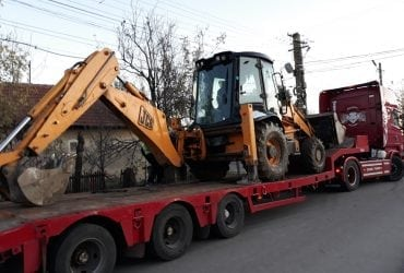 Transport trailer 4 axe capacitate 45 to