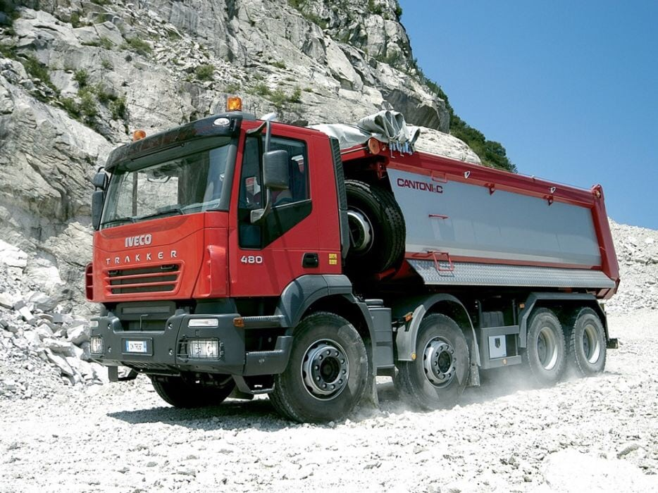 Transport agregate Iveco 8×4