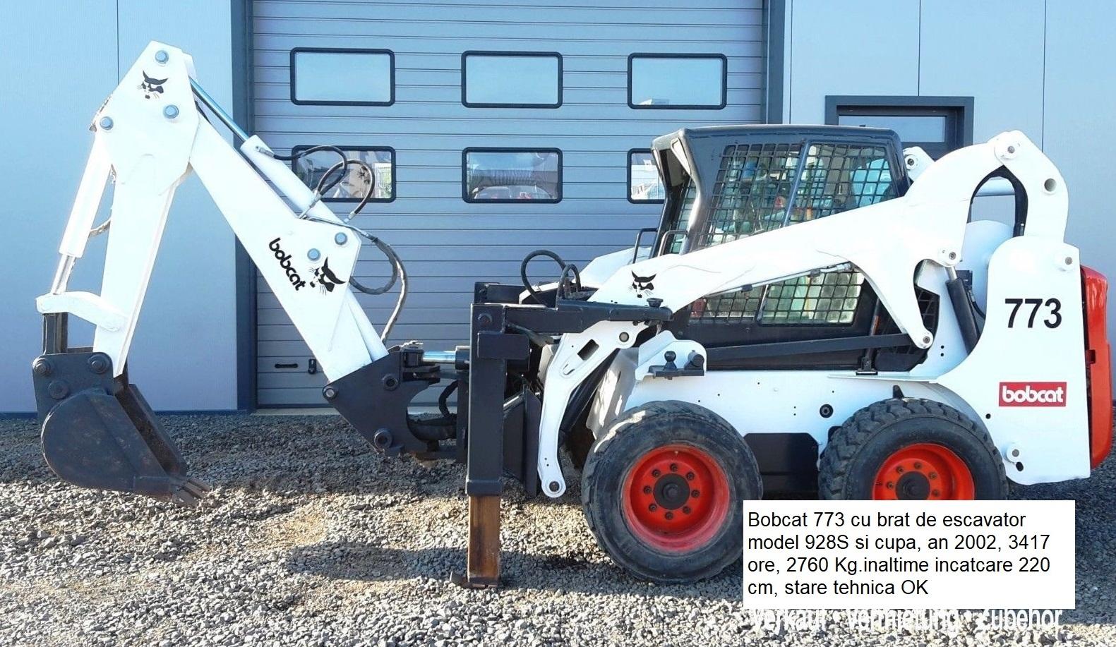 Incarcator compact BOBCAT 773