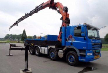 Inchiriez Camion cu Macara PK 72000, brat 28 m, capacitate 22 to