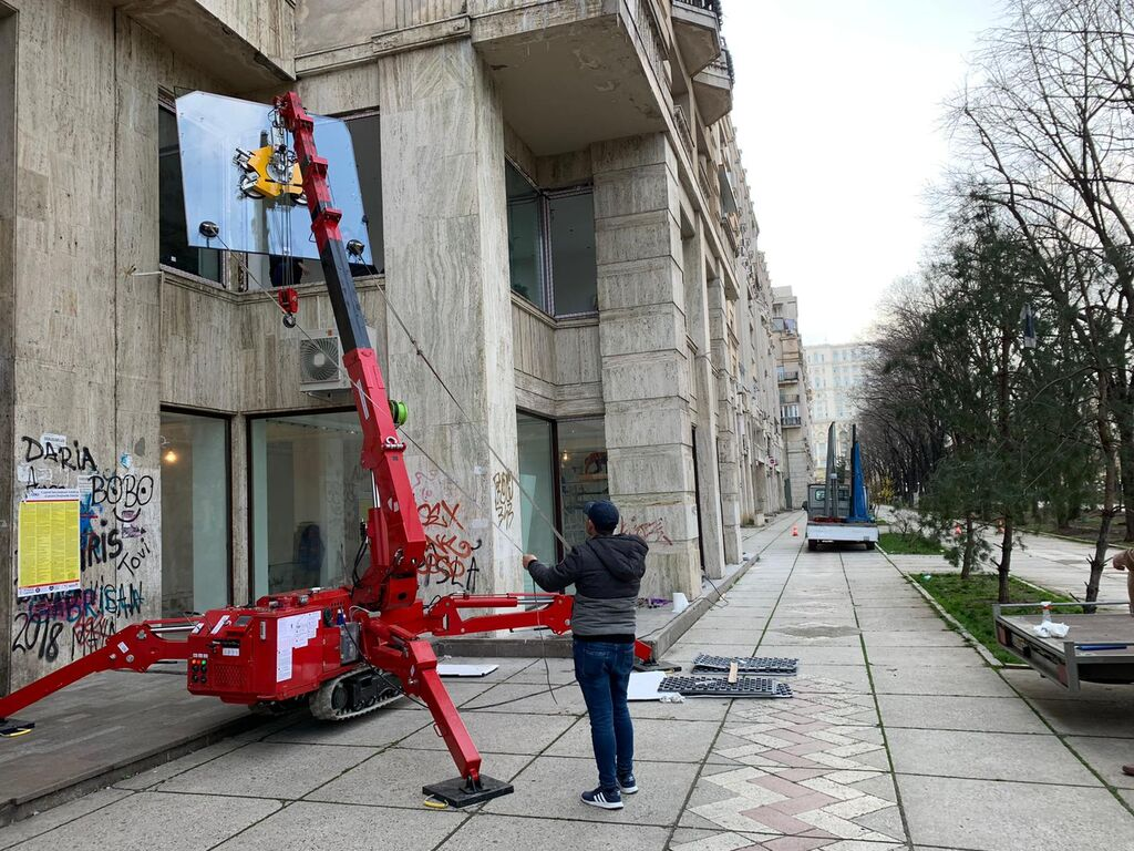 De vanzare – New Werner ks295 mini crane