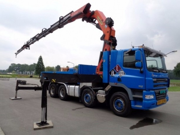 Inchiriez Camion cu Macara PK 72000, brat 28 m, capacitate 22 tone