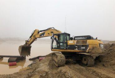 Excavator pe şenile CATERPILLAR 336DLN