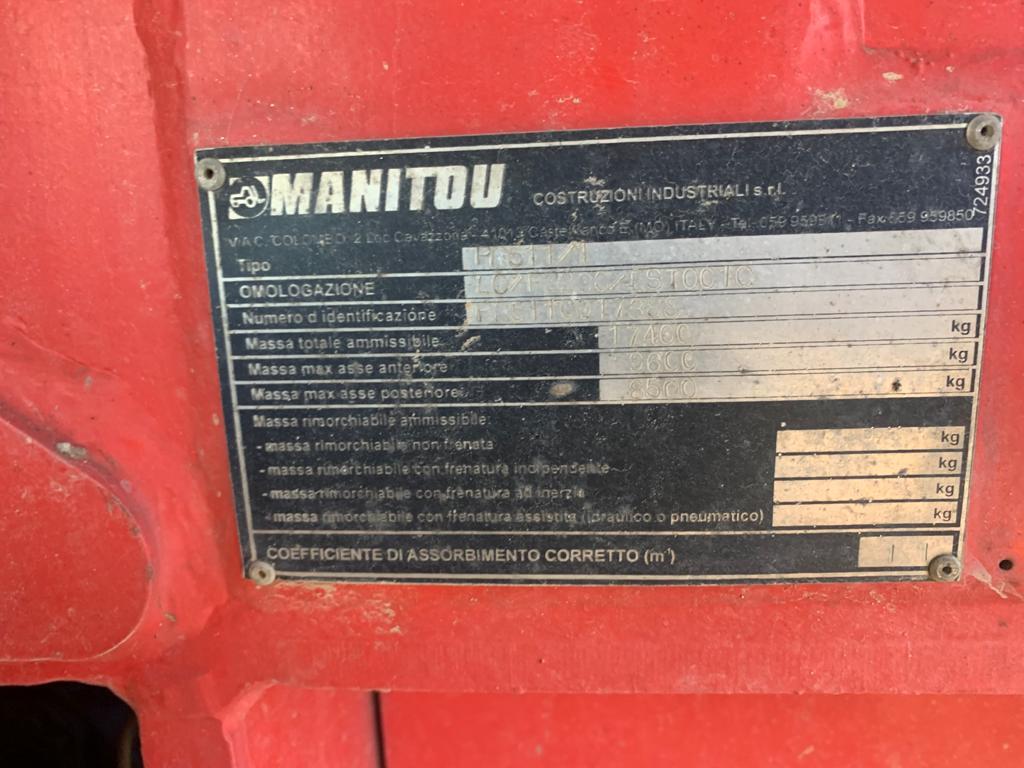 Încărcător telescopic MANITOU MRT 2150
