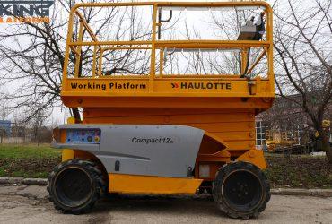 Nacela foarfeca diesel Haulotte Compact 12 DX Nr 71