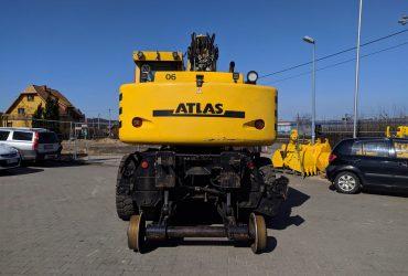 Atlas 1604 excavator feroviar